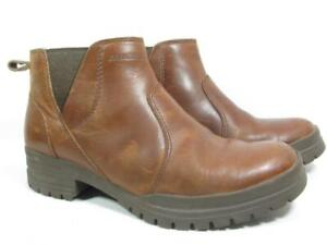 Merrell City Leaf Chelsea Ankle Boot Women size 8 Brown