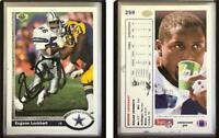 Eugene Lockhart Signed 1991 Upper Deck #259 Card Dallas Cowboys Auto Autograph