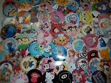 "131 Huge Characters 1"" inch  Precut Bottle-Cap Images Bows Scrapbooking Mix Lot"