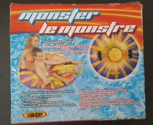 "ESP Monster Inflatable 50"" Snow Tube Or Super Float NOS"