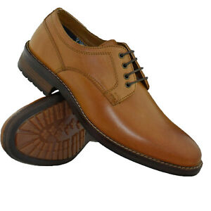 Mens Red Tape Leather Smart Lace Up Derby Shoes Formal Office Casual Oxford Shoe