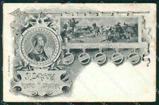 Militari Reggimentale S. Barbara Protettrice Bombardieri ABRASA cartolina XF6887