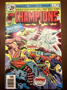CHAMPIONS #6 Black Widow Ghost Rider (1976) NEAR MINT!!