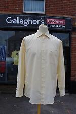 Burberrys de Londres Amarillo Formal Camisa Rozas Village Talla 4