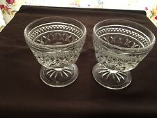Set of 2 Anchor Hocking Wexford Sherbets