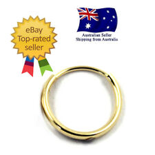 GENUINE STAMPED 14K SOLID YELLOW GOLD ANTI-ALLERGY SLEEPERS EARRINGS - Single