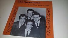 THE QUOTATIONS - TIME WAS 1959-1963 - ON THE CORNER 134 LP