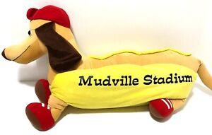 """Mudville Stadium Hot Dog Wiener Weiner Dachshund Casey at Bat Plush Fiesta 36"""""""