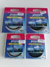 Jessops Filters x 4 58mm / 62mm Ultra Violet / Circular Polariser