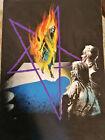 Rudolf Sieber-Lonati Originalzeichnung Titelbild Thriller - Fledermaus 257 Pabel