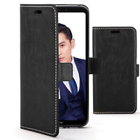 Huawei Honor Note 10 Case | Handmade PU Leather Premium Flip Cover Wallet Stylus