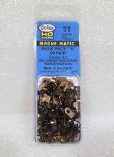 Kadee HO #11 Metal Magne-Matic Couplers Bulk Pack No. 5 (20 Pair). New