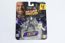 Vintage Toybiz WCW NWO Sting Key Chain Wrestlers - Sealed