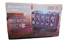 Remington TStudio Thermaluxe Space Saving Full Size Set Ceramic Rollers 2 Sizes