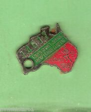 SOUTH SYDNEY JUNIOR  RUGBY LEAGUE  CLUB MEMBER BADGE 1989 #14617  ASSOCIATE