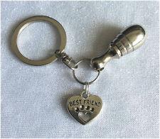 Pet Ashes Urn Jewellery Keyring - Best Friend Cremation Keepsake Jewelry WD