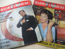 LOTTO    N.  2   RIVISTE     RADIOCORRIERE   TV