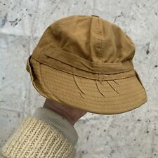 Vintage 30s/40s Duck Cloth Hunting Cap Mens Large