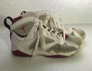 Youth Nike Air Jordan Retro 7 Hare Size 7Y 2014