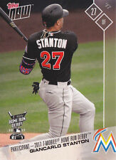2017 Topps NOW HRD-1 Giancarlo Stanton Marlins All Star T-Mobile Home Run Derby