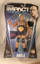 TNA Impact KURT ANGLE w Belt (1 Of 100) Leather and DieCast Belt Included, NIP