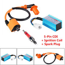 Racing CDI Box+Ignition Coil+Spark Plug 50-160cc Motorcycle 4-Stroke Scooter ATV