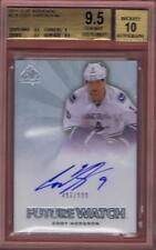 CODY HODGSON 2011-12 SP AUTHENTIC FUTURE WATCH /999 #224 BGS 9.5 AUTO 10 11-12
