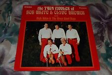 The Twin Fiddlers of Bob White & Clyde Brewer~Dick Allen & The River Road Boys