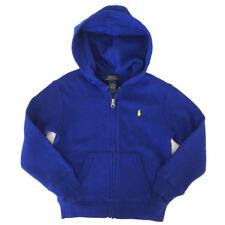 Genuine Ralph Lauren Blue Hoodie Hoody Zip Jacket Boys Age 5 Years