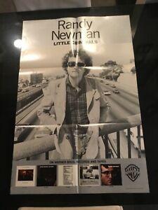 "Randy Newman ""Little Criminals"" 1977 Promotional Poster 35X23"