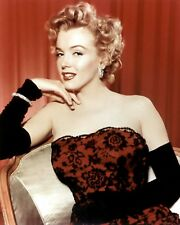 MARILYN MONROE 8x10 PICTURE CLASSY GREAT POSE PHOTO
