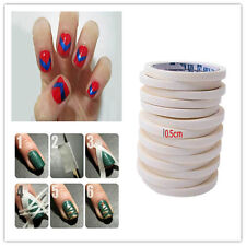 1Roll Fashion Nail Art Accessory Tips Guide Tape Roll Nail Polish Sticker Supply
