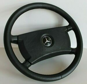 Steering Wheel Mercedes Benz OEM Leather 410mm W123 W124 W126 R107 G 1979-1992