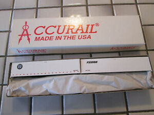 accurail MISSOURI PACIFIC 89 foot flat car with trailers load HO scale ////
