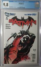 Batman #3 CGC 9.8 1st Cameo Appearance of the Court of Owls New 52