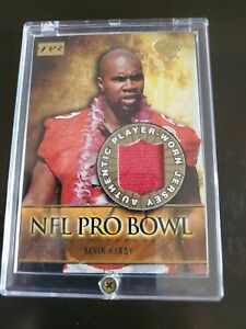 Kevin Hardy 2000 Topps Bowman Reserve NFL Pro Bowl Game Jersey Football Card