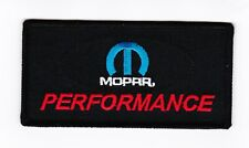 10 MOPAR PERFORMANCE EMBROIDERED SEW/IRON ON PATCH DODGE CHRYSLER HEMI