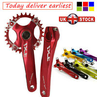 UK 30t 104bcd Narrow Wide MTB Bike 170mm Chainset Crank set Chainring Crankset