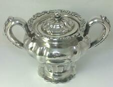 Antique Imperial Russian Silver Sucrier / Sugar Bowl /Caddy – Moscow 1840 (433g)
