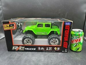 Jeep Wrangler *New* Bright Green Quality Toy Remote Controlled  6+