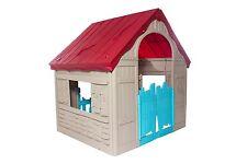 Keter da giardino pieghevole Play House Outdoor Indoor bambini gioco facile negozio solido Nuovo