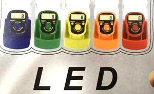 Digital Finger Electronic Tasbih Tasbeeh Counter LED Light Free & Fast Post UK