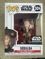 SEBULBA Smuggler's Bounty STAR WARS Funko Pop Vinyl New in Box + Protector