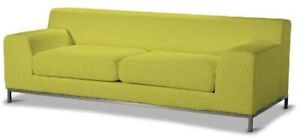 New Original IKEA cover set for Kramfors 3 seat sofa in MYRBY Yellow 801.197.31