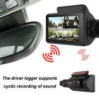 1PCS Car Dash Cam Recorder Dual Lens Camera HD 1080P DVR Vehicle Video PW HOT