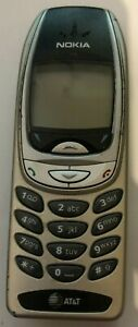 Nokia 6360 Cell Phone Vintage Gold ATT Fast Ship Good Used PARTS
