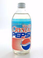 Vintage Crystal Pepsi Clear Unopened 1993 Metal Cap 500 mL New Old Stock L662