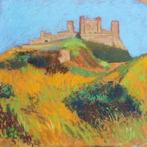 MICHAEL HASWELL - CASTLE ON THE HILL - MODERN BRITISH ARTIST