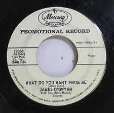 50'S & 60'S Promo 45 James O'Gwynn With The Merry Melody Singers - What Do You W
