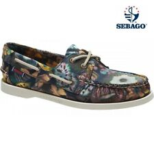 Sebago Docksides Liberty Women's Deck moccasin Ladies Garden Print Shoes New Sz